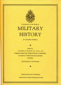Introduction to the Study of Military History for Canadian Students
