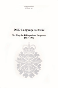 DND Language Reform: Staffing the Bilingualism Programs, 1967-1977