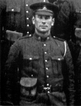 Photo of Lance Sergeant John Oscar Lindell