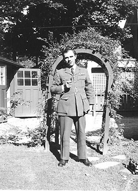 Flight lieutenant Peter Campbell, Royal Air Force.