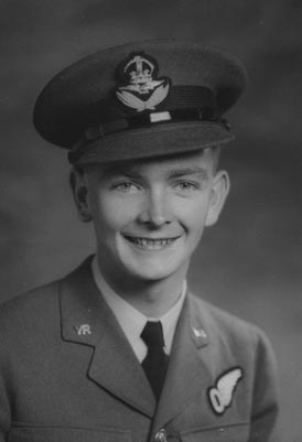 Photo of Pilot Officer Anthony William Lawrence