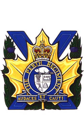The Perth Regiment Badge