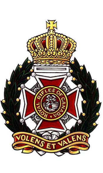 Royal Rifles of Canada Badge