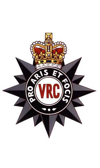 The Victoria Rifles of Canada Badge