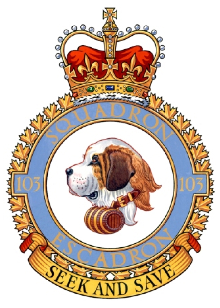 103 Search and Rescue Squadron Badge