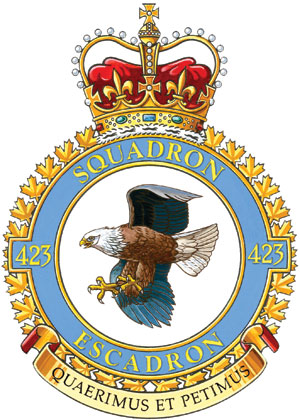 423 Maritime Helicopter Squadron Badge