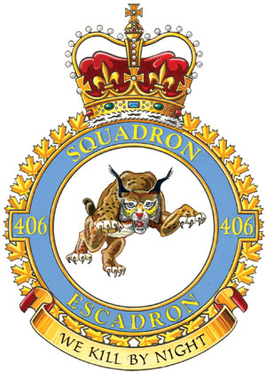 406 Maritime Operational Training Squadron Badge