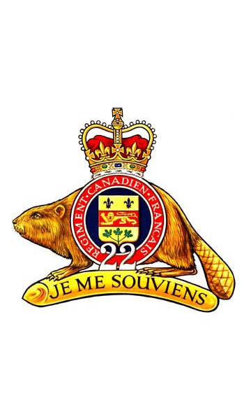 Royal 22e Regiment Badge