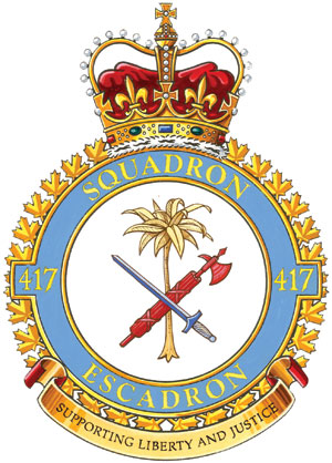 417 Combat Support Squadron Badge