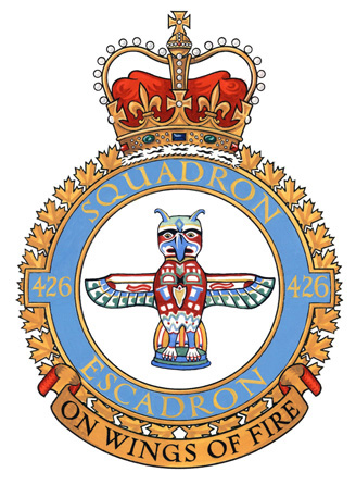 426 Transport Training Squadron Badge