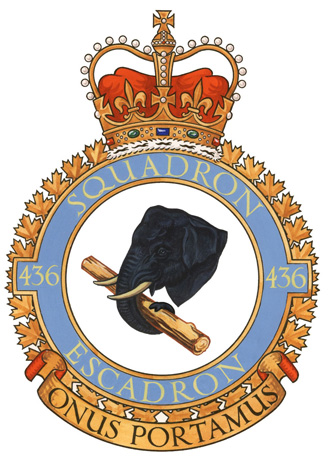 436 Transport Squadron Badge