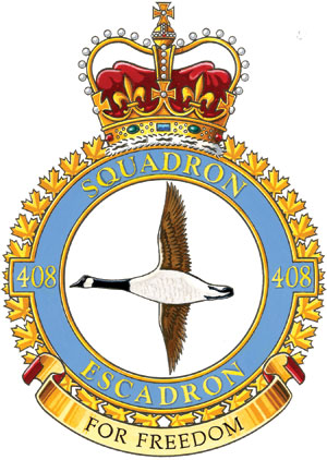 408 Tactical Helicopter Squadron Badge