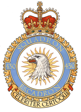 430 Tactical Helicopter Squadron Badge