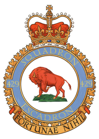 429 Transport Squadron Badge