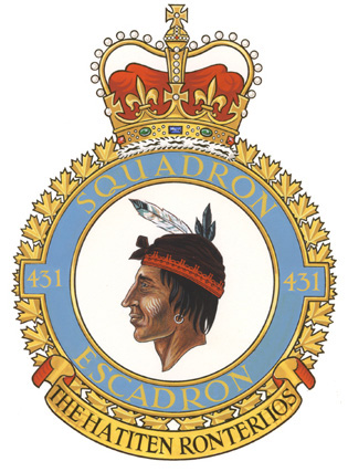 431 Air Demonstration Squadron Badge