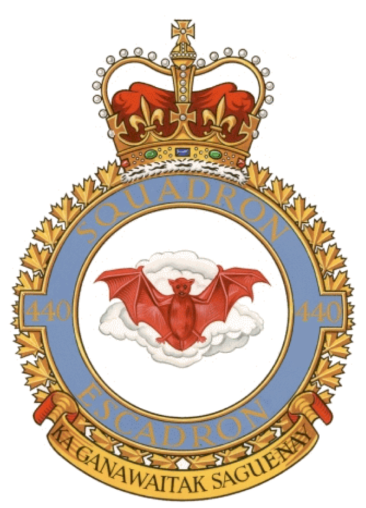 440 Transport Squadron Badge