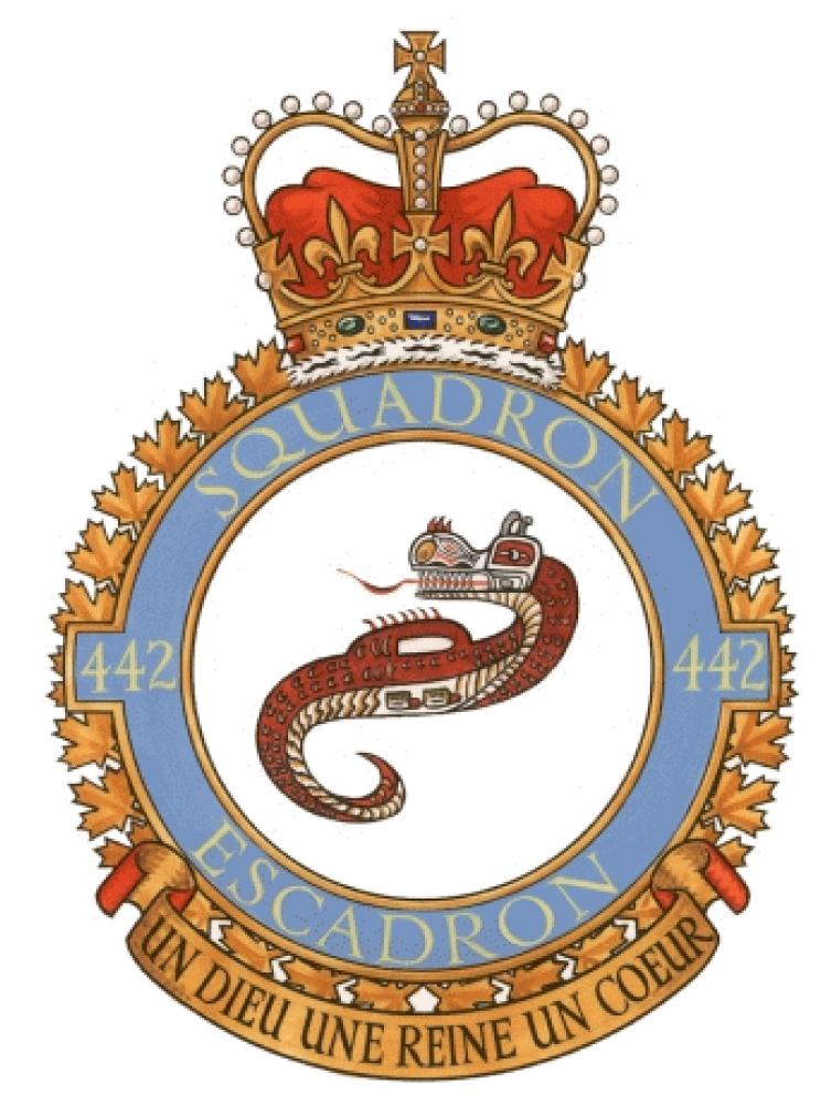 442 Transport and Rescue Squadron Badge