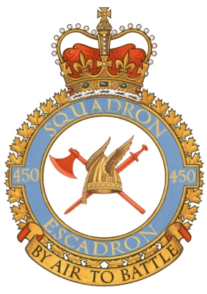450 Tactical Helicopter Squadron Badge