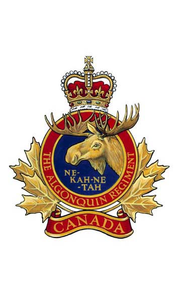 The Algonquin Regiment Badge