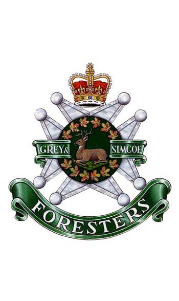 The Grey and Simcoe Foresters Badge
