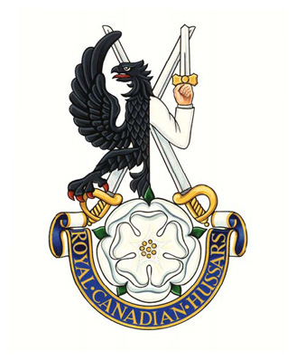 The Royal Canadian Hussars (Montreal) Badge