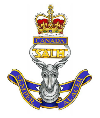 The South Alberta Light Horse Badge