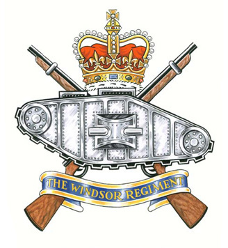 The Windsor Regiment (RCAC) Badge
