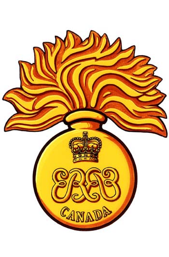 Insigne de The Canadian Grenadier Guards
