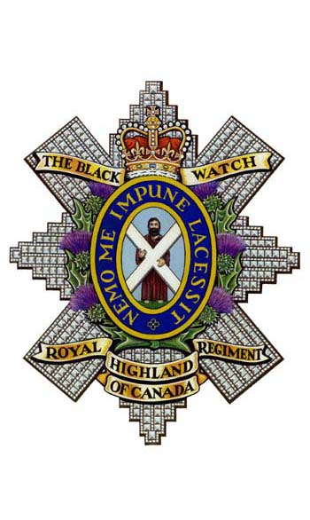 The Black Watch Royal Highland Regiment of Canada Badge
