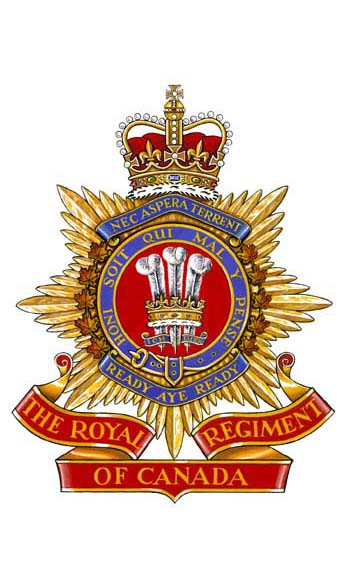 The Royal Regiment of Canada Badge