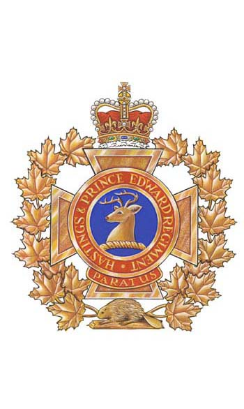 The Hastings and Prince Edward Regiment Badge