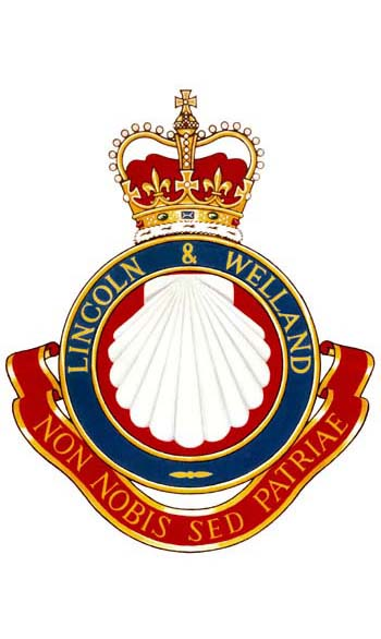 Insigne du Lincoln and Welland Regiment