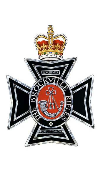 The Brockville Rifles Badge