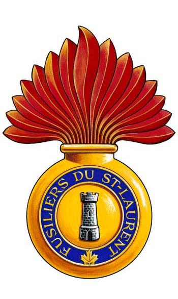 Les Fusiliers du St-Laurent Badge