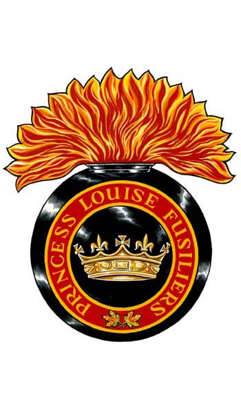 Insigne de The Princess Louise Fusiliers