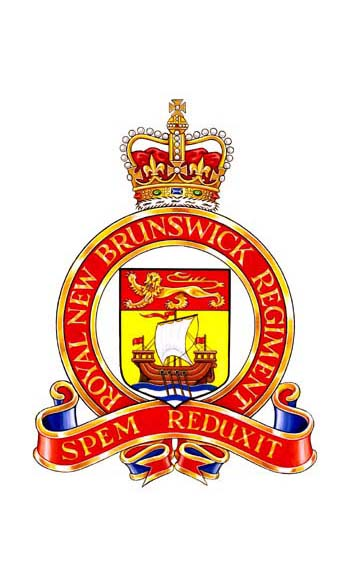 Royal New Brunswick Regiment Badge