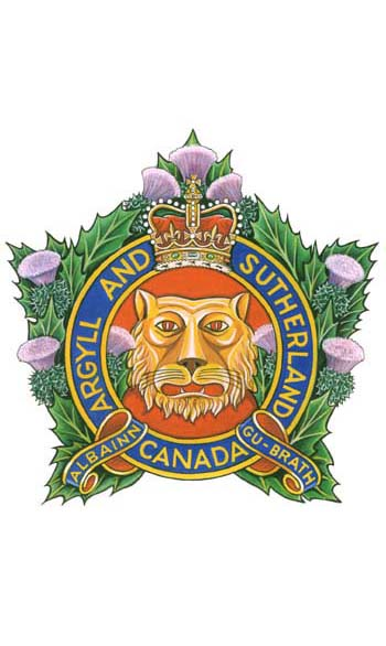 The Argyll and Sutherland Highlanders of Canada (Princess Louise) Badge