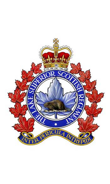 The Lake Superior Scottish Regiment Badge
