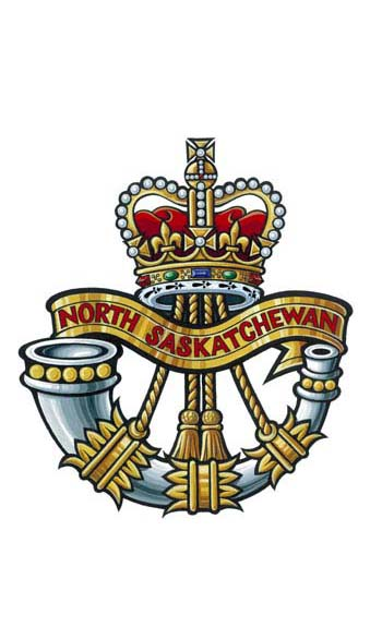 The North Saskatchewan Regiment Badge