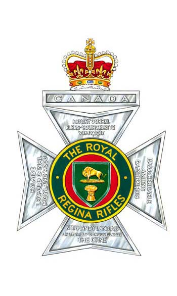 The Royal Regina Rifles (Regiment) Badge