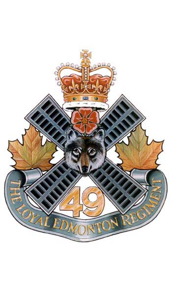 The Loyal Edmonton Regiment Badge