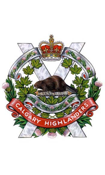 The Calgary Highlanders Badge