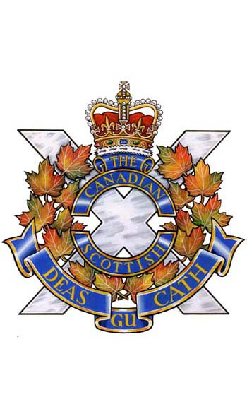The Canadian Scottish Regiment (Princess Mary�s) Badge
