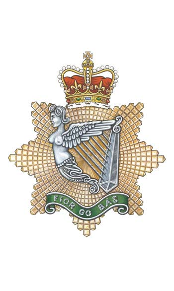 Insigne du Irish Regiment of Canada