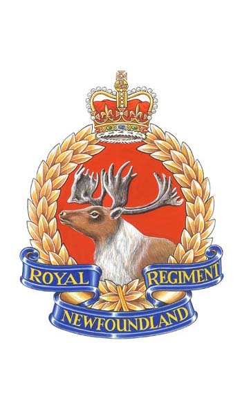 Insigne du Royal Newfoundland Regiment