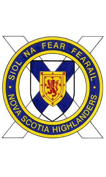 Insigne de The Nova Scotia Highlanders