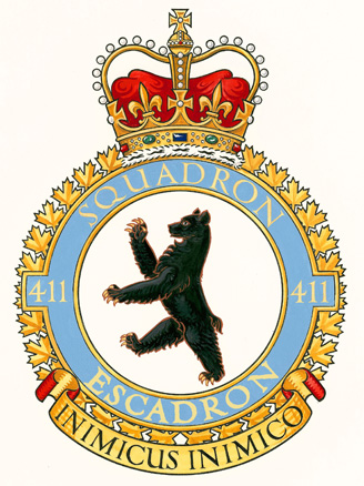 411 Tactical Helicopter Squadron Badge