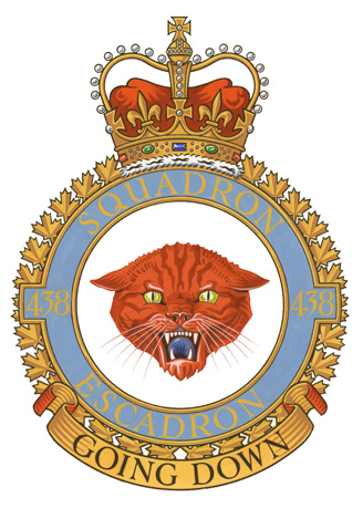 438 Tactical Helicopter Squadron Badge