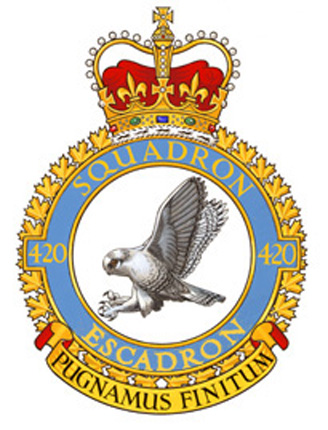 420 Combat Support Squadron Badge