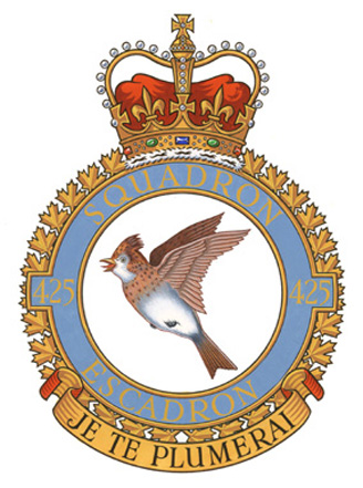 425 Tactical Fighter Squadron Badge